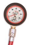 52024 Longacre 0-30lbs Tire Gauge with Bleeder