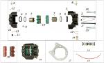 17. FC0.01641 CRG Rear Brake Caliper Plate