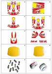 4. 10.7680.04 Birel Cadet Sticker Kit
