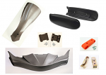 Out of Stock - CIK FP7 Complete CIK Bodywork Kit EVO DUO Pods with Hardware