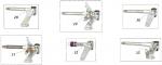 29. FM0.0318S CRG Stub Axle Ven04 8mm Kingpin, Left Hand, 125cc