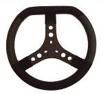"""KG Karting """"Extra Wide"""" Suede Flat Top Steering Wheel with Lederfylon Grip"""