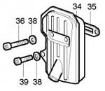 36. (NORM-036-06) K80 Exhaust Bolt M5x65