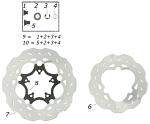 8. SBN.00237 CRG Rear Brake Disk Flange Ven04