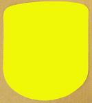 Vinyl Yellow Stick On Driver Panel