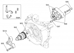 (501A) IA-A-60870 X30 Countershaft Support