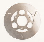 "New! MCP 506.1 Flat Steel Brake Disc 6"" Diameter x 3/16"" Thick"