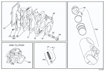(77A) IA-B35520C Leopard Carburetor OEM Throttle Cable Bracket