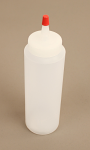 Plastic Squeeze Bottle, 8oz