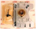 Gem Motor Mount G2623 TKM Reed Engine, 100cc Combo Mount, Third Bearing, International Rail