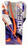 DPE-KFT02 X1-E Captain Arrow Sticker Design on Aluminum Floor Tray