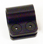 """093119 Margay 1 1/8"""" Torsion Bar Clamp with Bolts"""