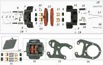 20. SBN.00432 CRG Rear Brake Pad Shim, Ven99