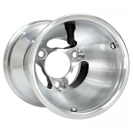 AC5-130V Douglas Cast Aluminum Metric Wheel 130mm x 5""