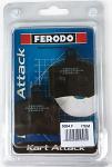 5054.F Ferodo Aftermarket OTK Tony Kart BSD Rear Brake Pad, Sold As a Pair